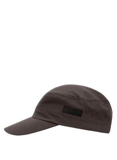 DeFacto Baskılı Şapka Haki